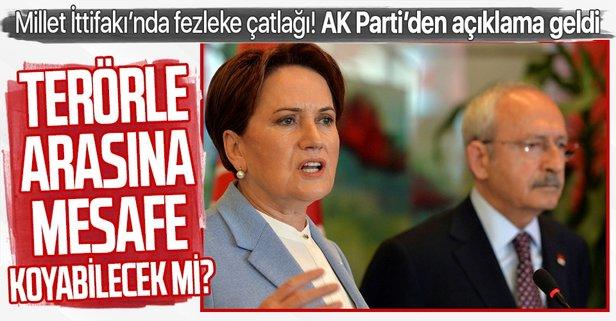AK Parti'den son dakika fezleke açıklaması
