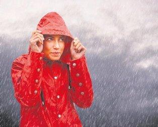 Megakent yağmura teslim