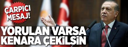 Cumhurbaşkanı Erdoğan AK Parti'de konuştu