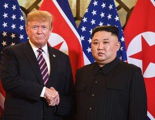 Dünyanın gözü Vietnam'da! ABD Lideri Trump ve Kuzey Kore Lideri Kim Jong-un bir araya geldi