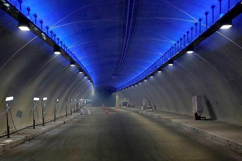 Avrasya Tünelinin içi görüntülendi