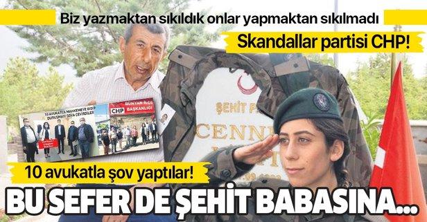 CHP'den 15 Temmuz şehidinin babasına dava!