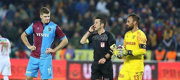 Trabzonspor'dan Fırat Aydınus ve VAR hakemine tepki