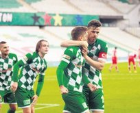 Bursaspor 4 köşe!