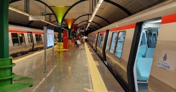 O metro istasyonu kapatıldı!