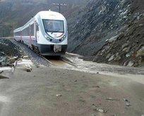 Erzincan-Sivas demir yolu ulaşıma kapandı