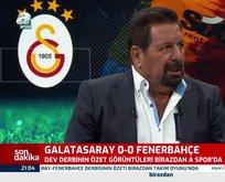 Fatih Terim Galatasaray'ı 70 dakika 9 kişi oynattı