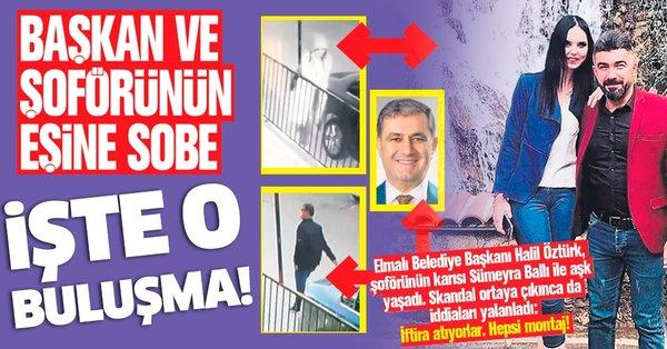 İYİ Partili Elmalı Belediye Başkanı Halil Öztürk ve yasak aşkının ...