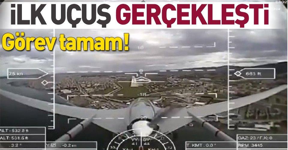 Bayraktar SİHA Deniz Kuvvetleri için uçmaya başladı
