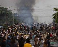 Myanmar'da gösterilere kanlı müdahale!