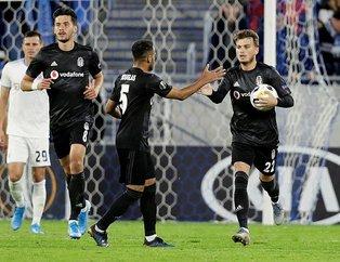 Beşiktaş deplasmanda mağlup oldu! İşte UEFA Avrupa Ligi K Grubu'nda puan durumu