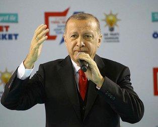 Başkan Erdoğan'dan 31 Mart mesajı