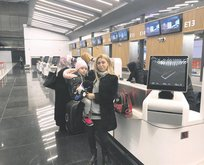 Trabzon'a ilk uçuş