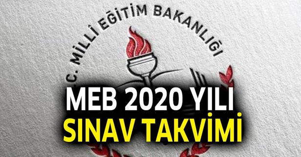 MEB 2020 sınav takvimi: İOKBS, PYBS, BİLSEM...