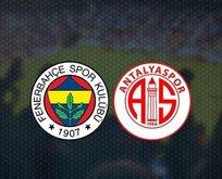Fenerbahçe Antalyaspor'u 2-0'la geçti!