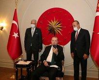 Başkan Erdoğan'dan tebrik telefonu