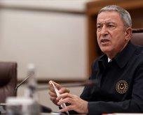 Bakan Akar'dan Ermenistan'a sert mesaj