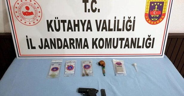 Kütahya'da uyuşturucu ticaretine 3 tutuklama!