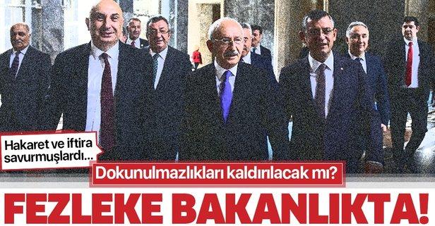 CHP'li Özgür Özel ve Engin Özkoç hakkında hazırlanan fezleke Adalet Bakanlığı'na gönderildi