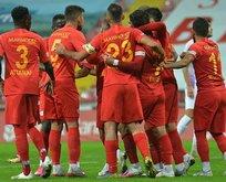 Kayserispor, Yomraspor'u 5 golle geçti
