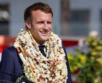 Macron'un ilginç anları