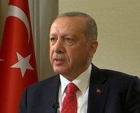 Başkan Erdoğan Reuterse konuştu