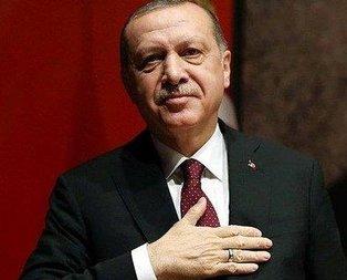 Başkan Erdoğan'dan Şaziye Erdoğan'a tebrik
