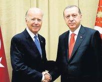 Başkan Erdoğan Biden ile görüştü!