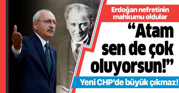 CHP, Erdoğan nefretinin mahkumu oluyor!