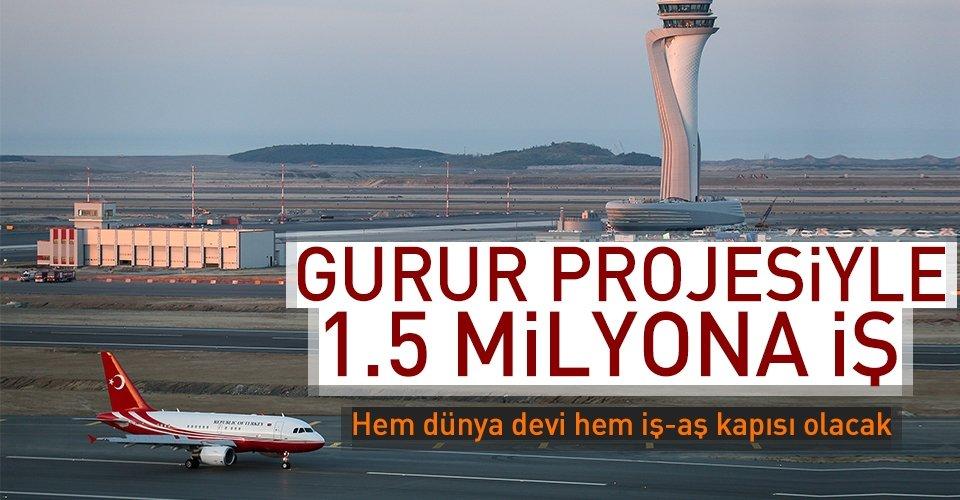 Gurur projesiyle 1.5 milyona iş