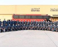 Katar arama kurtarma ekibi yolladı