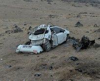 Iğdır'da korkunç kaza! Uçuruma yuvarlandı...