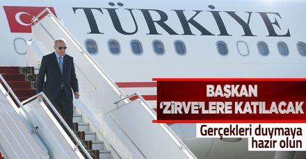 Başkan Erdoğan G20 Liderler Zirvesi ve Dünya Liderler Zirvesi'ne katılacak! İşte o tarihler...