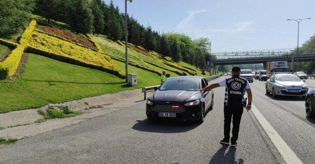 İstanbul'da 1753 sürücüye çakarlı araç cezası