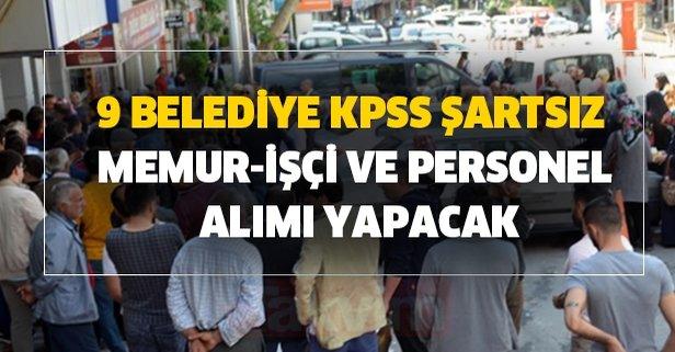 KPSS şartsız 4 bin TL maaşla memur personel alımı yapılacak