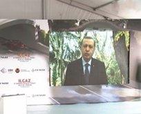 Dev projenin açılışında Erdoğan sürprizi