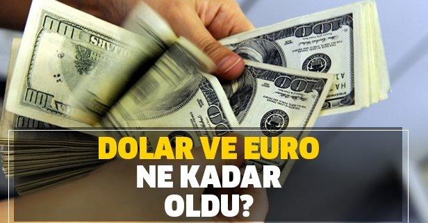 Dolarda artış! Dolar ve euro ne kadar oldu?