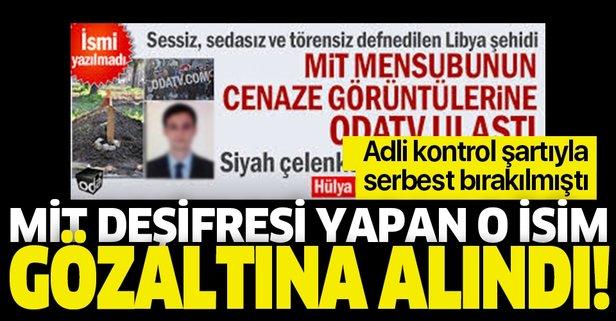 Yeniçağ gazetesi yazarı Murat Ağırel gözaltında!