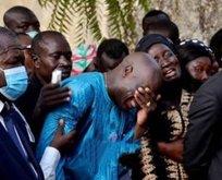 Aboubakar annesini son yolculuğuna uğurladı