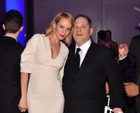 Uma Thurman, Harvey Weinsteina ateş püskürdü