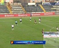 Göztepe, Nazilli Belediyespor'u 3-0 mağlup etti