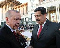 Maduro'dan Türkiye'ye teşekkür