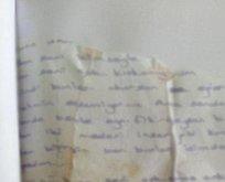 Öz babanın istismarını çöpe atılan mektup ortaya çıkardı