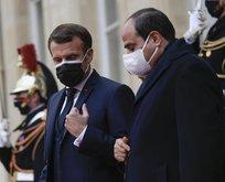 Macron ve Sisi'nin tek derdi Erdoğan