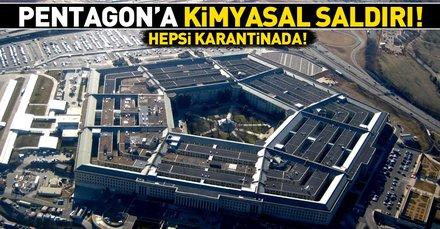 Son dakika: Pentagona zehirli paket gönderildi