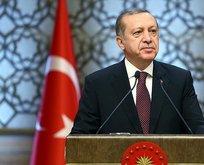 Başkan Erdoğan'dan 'Türkeş' mesajı