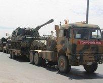 TSKdan sınıra askeri sevkiyat