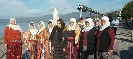 Çinin yarışma programı Fethiyede çekildi