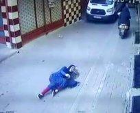 Çinli kadın Zeytinburnunda kabusu yaşadı!