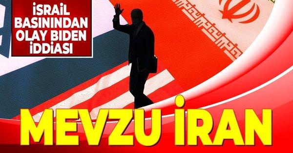 İsrail televizyonundan olay Biden ile İran iddiası
